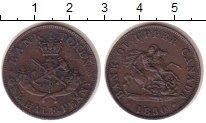 Изображение Монеты Канада 1/2 пенни 1850 Медь XF ТОКЕН.Нижняя Канада