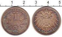 Изображение Монеты Германия 1 марка 1905 Серебро XF