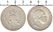 Изображение Монеты Пруссия 1 талер 1870 Серебро VF