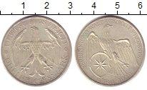 Изображение Монеты Веймарская республика 3 марки 1929 Серебро UNC- Союз  Вальдека  и  П