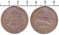 Изображение Монеты Ганновер 16 грошей 1825 Серебро XF