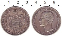 Изображение Монеты Саксония 1 талер 1858 Серебро XF