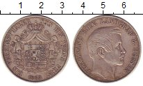 Изображение Монеты Гессен-Кассель 1 талер 1863 Серебро XF Фердинанд.