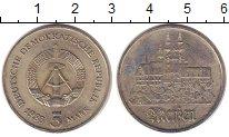 Изображение Монеты ГДР 5 марок 1983 Медно-никель XF Майсен