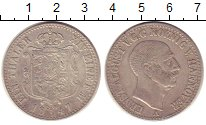 Изображение Монеты Ганновер 1 талер 1847 Серебро XF