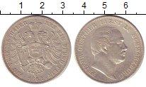 Изображение Монеты Шварцбург-Зондерхаузен 1 талер 1862 Серебро XF Фридрих  Гюнтер.