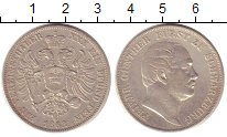 Изображение Монеты Шварцбург-Зондерхаузен 1 талер 1862 Серебро XF