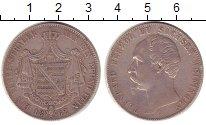 Изображение Монеты Саксен-Майнинген 1 талер 1862 Серебро XF