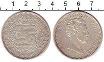 Изображение Монеты Саксония 1 талер 1828 Серебро XF