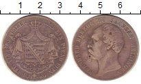 Изображение Монеты Саксен-Майнинген 1 талер 1863 Серебро VF