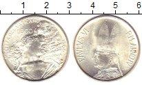 Изображение Монеты Ватикан 500 лир 1966 Серебро UNC-