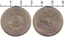 Изображение Монеты ГДР 5 марок 1983 Медно-никель XF Виттенберг. Кирха.