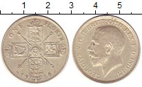 Изображение Монеты Великобритания 1 флорин 1918 Серебро XF