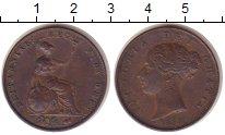 Изображение Монеты Великобритания 1 пенни 1853 Медь XF