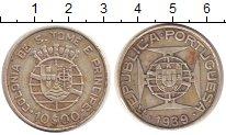 Изображение Монеты Сан-Томе и Принсипи 10 эскудо 1939 Серебро XF Португальская колони