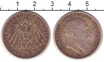 Изображение Монеты Баден 2 марки 1903 Серебро VF