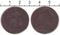 Изображение Монеты Великобритания 1/2 пенни 1773 Медь VF
