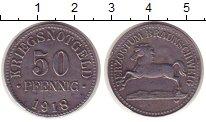 Изображение Монеты Германия Брауншвайг 50 пфеннигов 1918 Железо XF