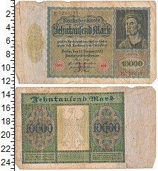 Изображение Боны Веймарская республика 10000 марок 1922  VF- Выпуск 19 января 192