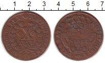 Изображение Монеты Португалия 10 рейс 1757 Медь XF-