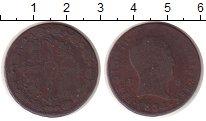 Изображение Монеты Испания 8 мараведи 1824 Медь VF