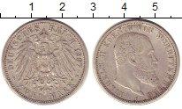 Изображение Монеты Вюртемберг 2 марки 1907 Серебро VF