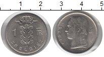 Изображение Монеты Бельгия 1 франк 1976 Медно-никель VF
