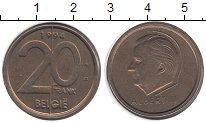 Изображение Монеты Бельгия 20 франков 1994 Латунь VF