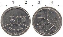 Изображение Монеты Бельгия 50 франков 1990 Медно-никель VF