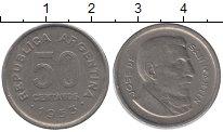 Изображение Монеты Аргентина 50 сентаво 1953 Медно-никель XF