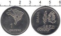 Изображение Монеты Бразилия 1 крузейро 1972 Медно-никель UNC- Независимость
