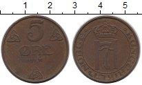 Изображение Монеты Норвегия 5 эре 1941 Бронза XF
