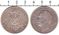 Изображение Монеты Германия Баден 3 марки 1912 Серебро VF