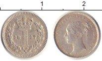 Изображение Монеты Великобритания 1 пенни 1847 Серебро VF