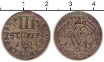 Изображение Монеты Германия Берг 3 стюбера 1804 Медь VF