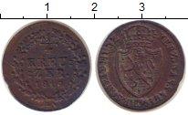 Изображение Монеты Нассау 1/4 крейцера 1816 Медь VF