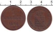 Изображение Монеты Саксен-Майнинген 1 крейцер 1854 Медь XF