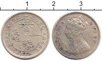Изображение Монеты Гонконг 10 центов 1898 Серебро XF Виктория