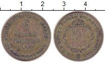 Изображение Монеты Гессен-Кассель 1/6 талера 1842 Серебро VF