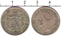 Изображение Монеты Германия Саксония 1/6 талера 1856 Серебро XF