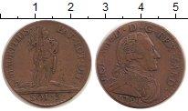 Изображение Монеты Сардиния 5 солей 1794 Серебро VF Витторио Амадео II
