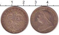 Изображение Монеты Великобритания 1 шиллинг 1894 Серебро XF Виктория