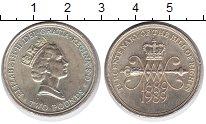 Изображение Монеты Великобритания 2 фунта 1989 Латунь UNC-