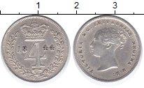 Изображение Монеты Великобритания 4 пенса 1844 Серебро XF