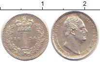 Изображение Монеты Великобритания 1 пенни 1834 Серебро XF Вильгельм IV.  Маунд