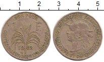 Изображение Монеты Гваделупа 1 франк 1903 Медно-никель VF