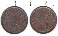 Изображение Монеты Индия 1/12 анны 1862 Медь XF