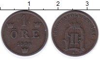Изображение Монеты Швеция 1 эре 1898 Бронза XF Оскар II.