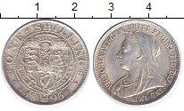 Изображение Монеты Великобритания 1 шиллинг 1895 Серебро UNC- Виктория