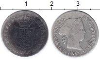 Изображение Монеты Испания 20 сентим 1868 Серебро VF